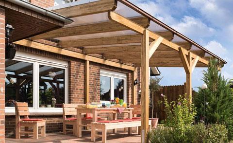 Sichtschutz Zaun Carport Terrasse Aus Holz Von Scheerer Carports