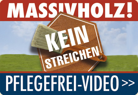 Video pflegefreies Massivholz