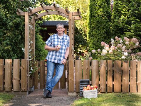 Sichtschutz Zaun Carport Terrasse Aus Holz Von Scheerer